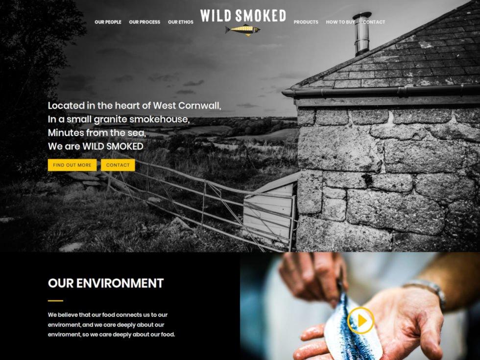 Screenshot of The PR Agency's WordPress website home page